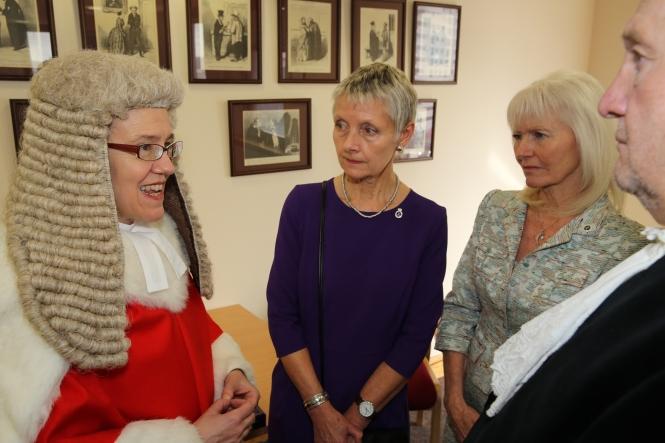 Dame Thirwall, Consorts and High Sheriff 2014