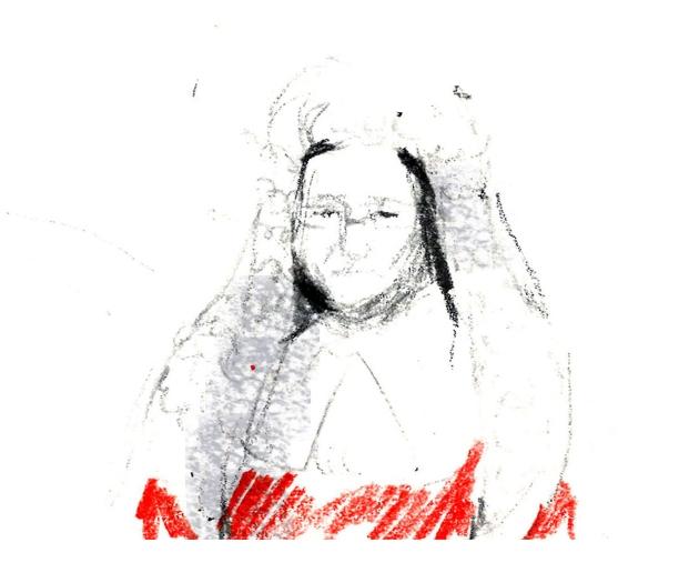 Katie Thomlinson Presiding Judge Illustration