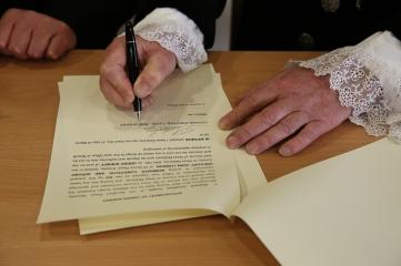 The Declaration signature