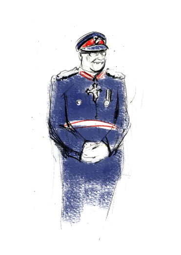 Katie Thomlinson Lord Lieutenant Illustration
