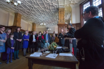 Lord Lieutenant Reception Address