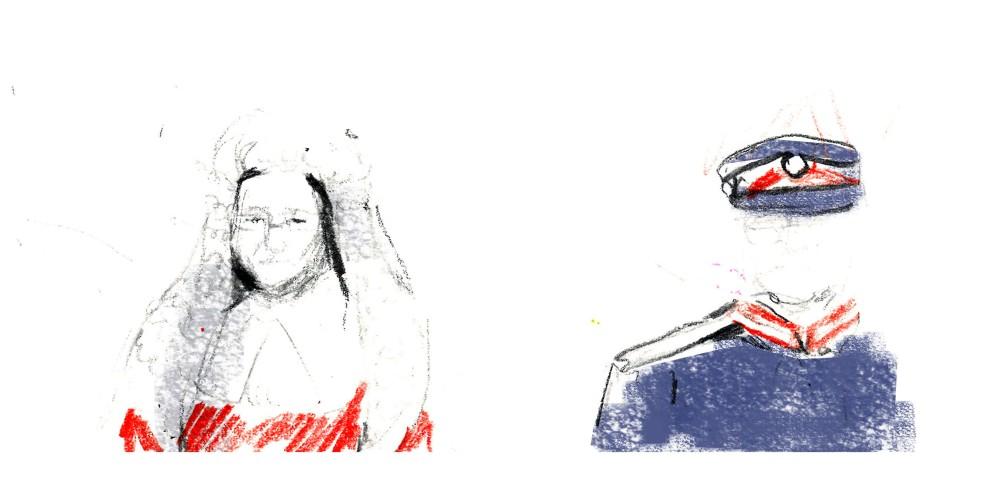 Katie Thomlinson Presiding Judge and Lord Lieutenant Illustration