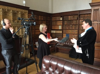 High Sheriff gets interview by Maverick Television