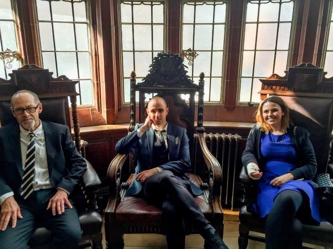 Mik, Nicholas and Alexandra Davies