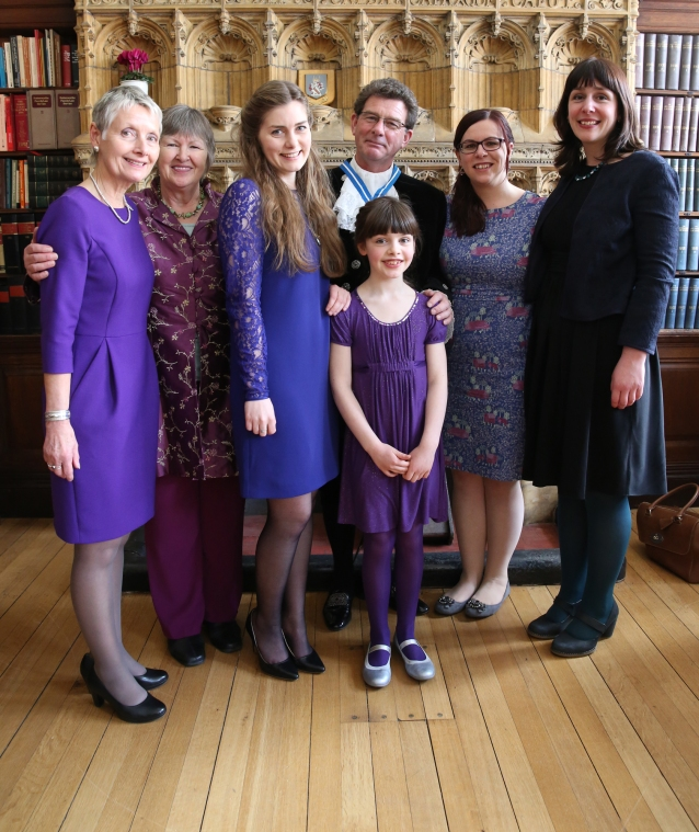 The High Sheriffs family