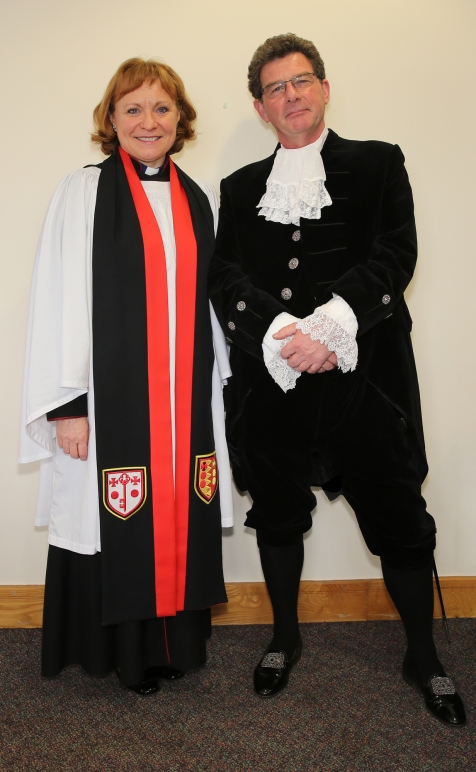 HSWM15 Chaplin The very Reverend Cathine Ogle, Dean of Birmingham Cathedral
