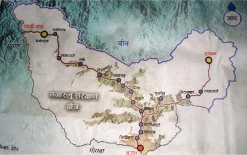 nubri map