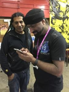 apache studio  checkin the hs credentials