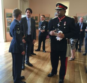 lor Lieutenant introduces Assistant to MP Morris