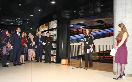 Clr Penny HollBrook launches Creative Future
