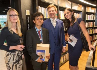 Selfridges team with awardee Yusuf Niazi