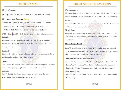 HSWM15 Programme details