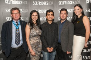 Selfridges host a breakfast event for the winners of the High Sheriff's creativity awards.