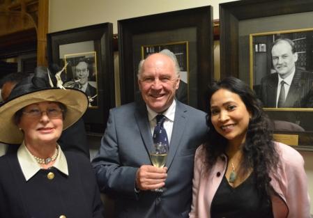 Mrs Bradnock, Mr John Hudson and Ms Jenny Loynton