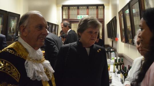 Mayor Hammon and HHJ Hogg