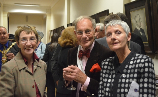 DL Diedre Kelly, Sir Ian Byatt and Marian Davies
