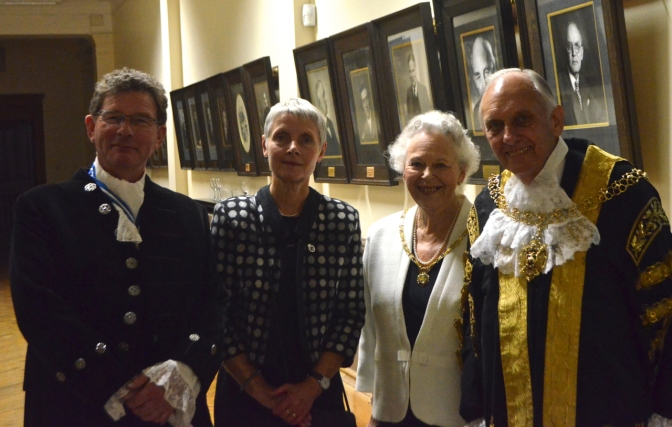 HIgh sheriff, consort and Mayor and Mayoress of Coventry