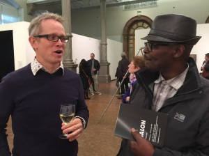 richard Davies meets Vanley BUrke
