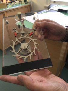 The watch mechanism demo