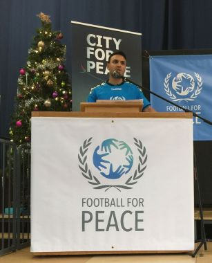 Footbll for peace founder