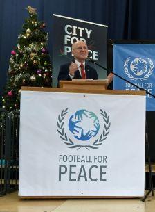 Mr Wilfred Lempke United Nations Special Advisor