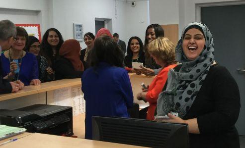 Saltley School Reception happiness