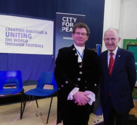 High Sheriff with Un Special Advisor Wlifed Lempke