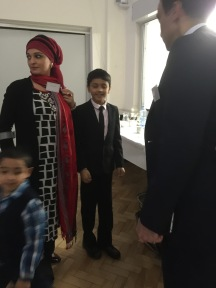 Dr Haseena Lockhat and Danyal