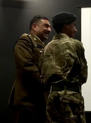 Captain Naveed Muhammad MBE