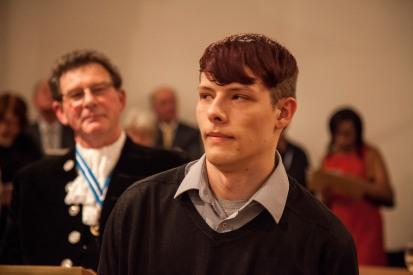Bredon Wells Listening to Noel Dunnes testimony