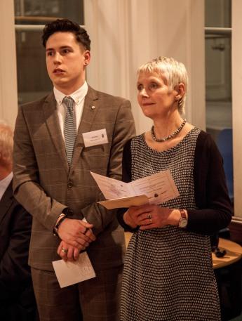 HSWM Aprentice Jimi Ward and Consort Marian Davies
