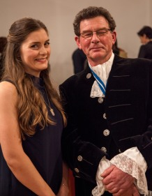 Awards Host Maisie Turpie with The High Sheriff