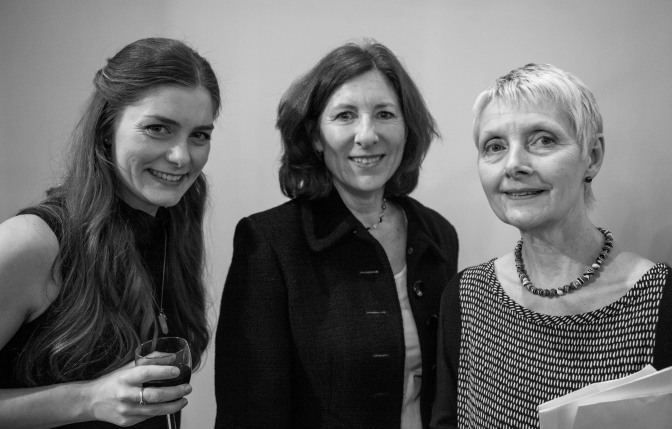 maisie turpie, marian Davies and and Judge Jane Evans Gordon