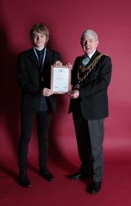 mayor with ......