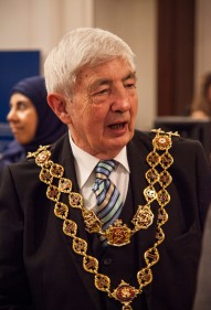 Lord Mayor of Birmingham Ray Hassal