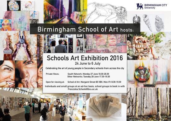 Schools Exhibition Invitation 2016small