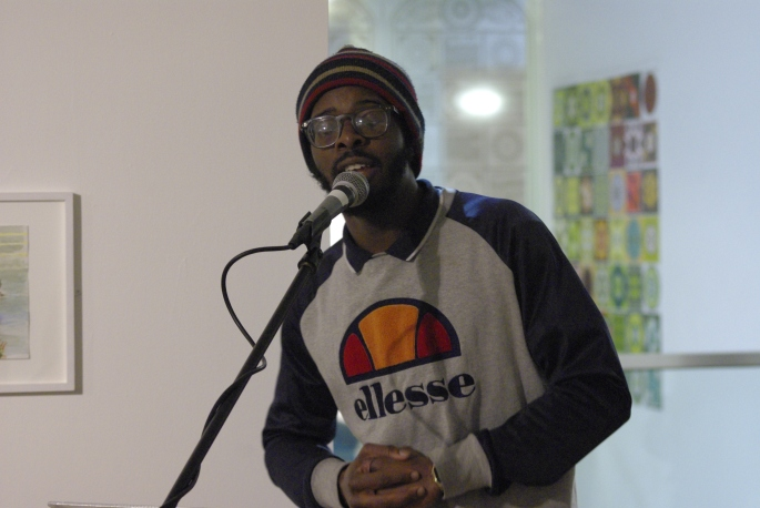 Koestler Trust Alumni raps his message
